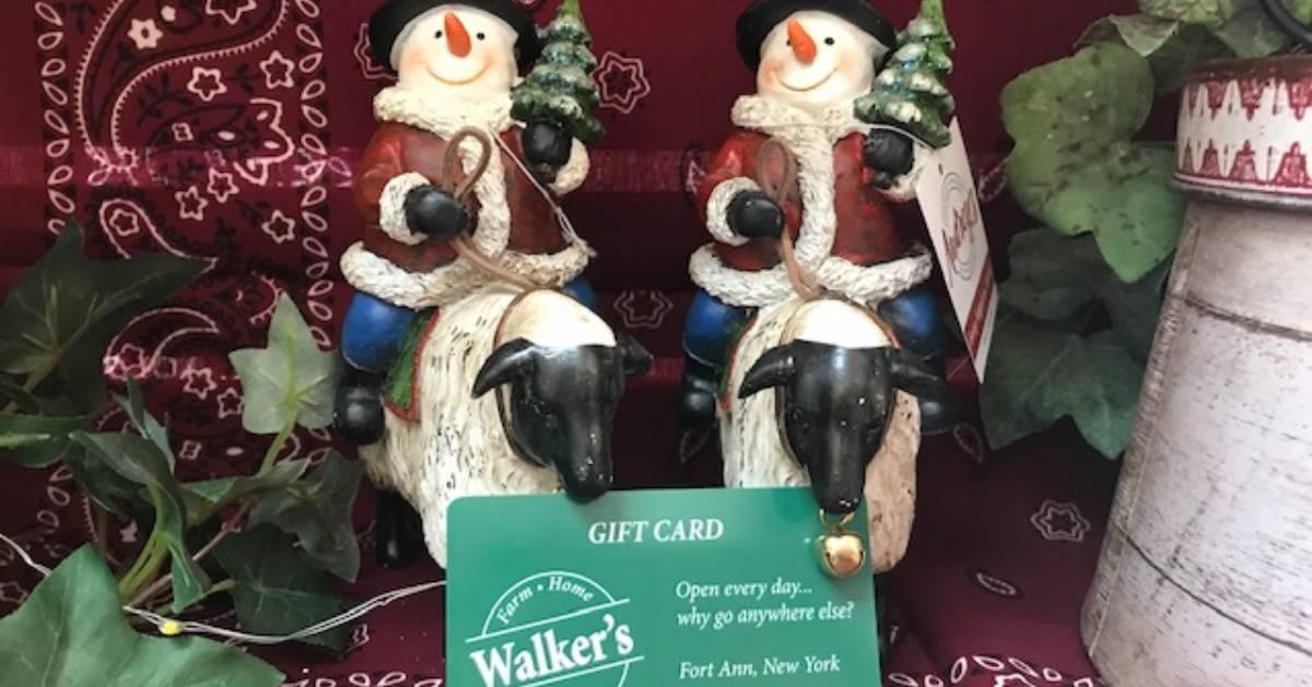 Walker's gift card