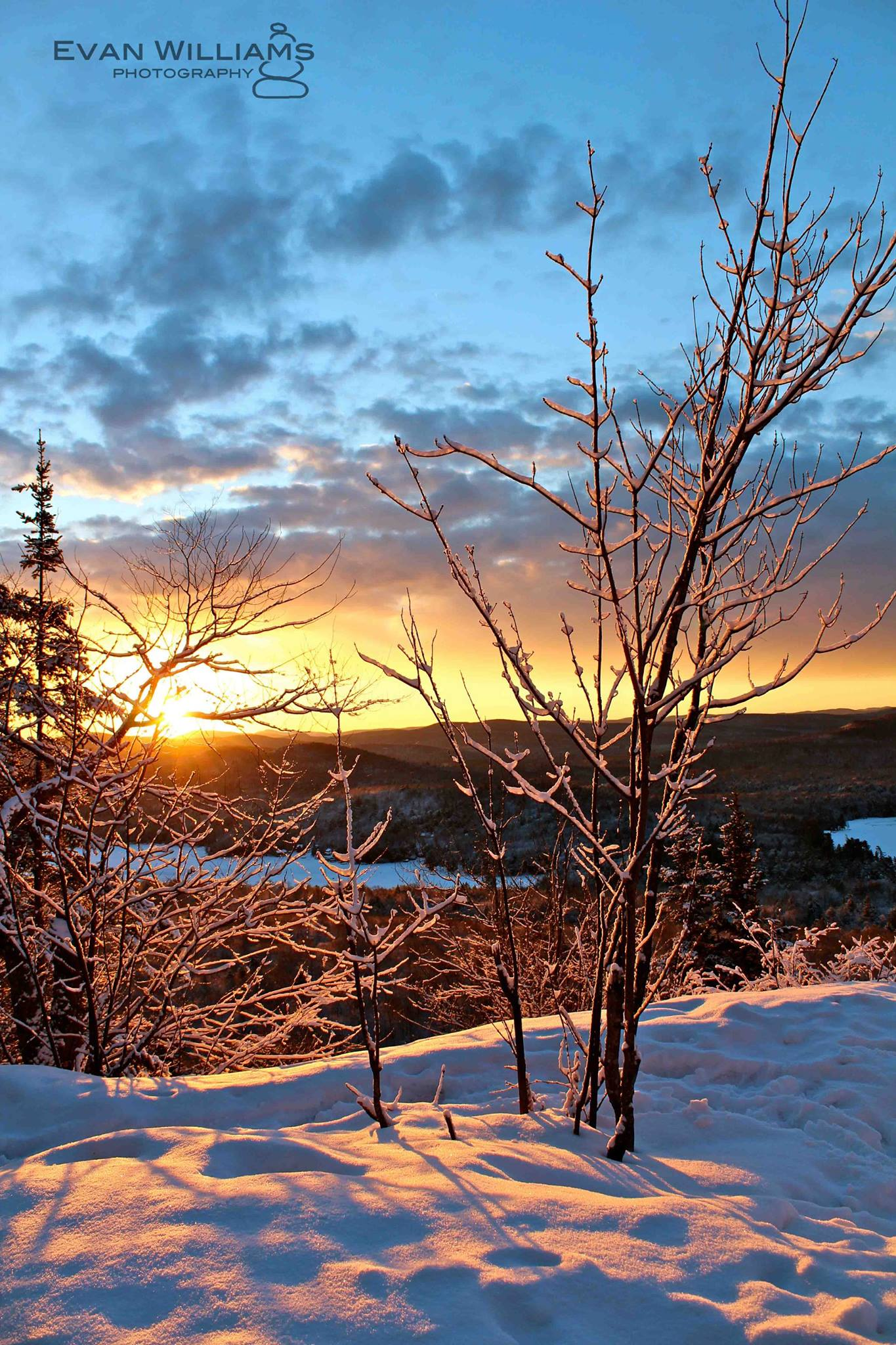ADK Pic of the Week Evan Williams: Sunrise from Ba