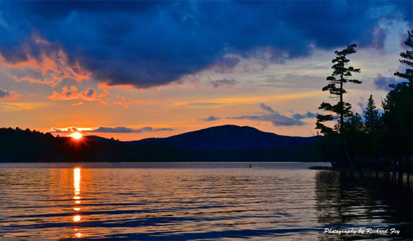 View Photos Of The Adirondacks Adirondack Sunset Stag