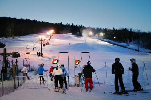 ski lift at west mountain