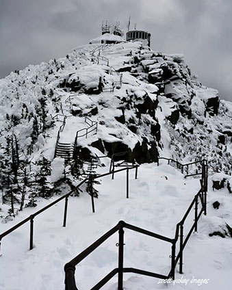 whiteface summit in winter