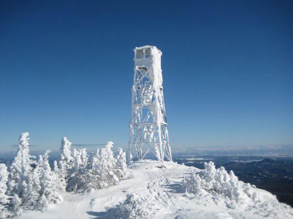 Hurricane Mountain Firetower