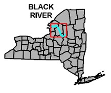 Black River Map