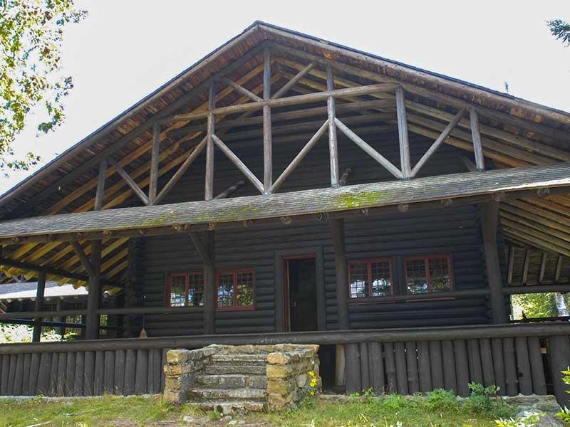 Great Camp Santanoni in the Adirondack Mountains
