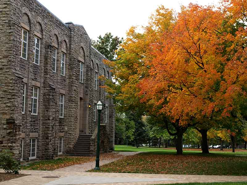 Hepburn Hall at St. Lawrence University in Canton NY