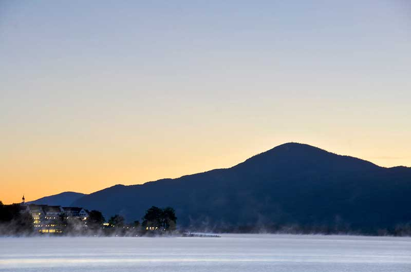 Black Mountain in Dresden, NY as seen from Lake George