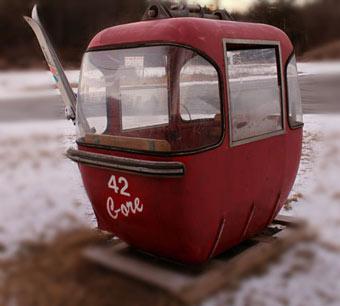 Gore Mountain gondola car
