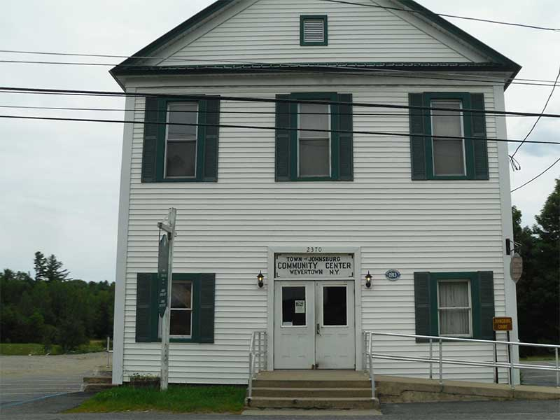 Town of Johnsburg Community Center in Wevertown NY