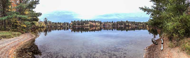 Oregon Pond in Onchiota NY