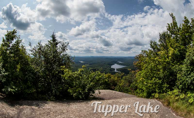 Tupper Lake from Mount Arab