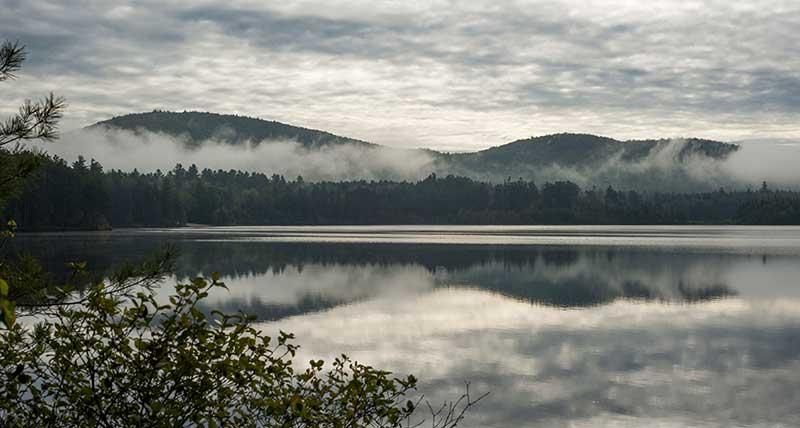 Buck Pond near Vermontville NY