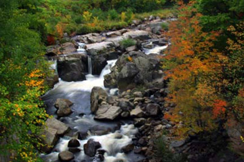 Wilmington Flume in autumn
