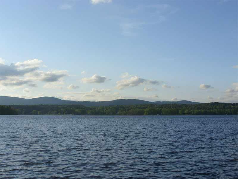 Great Sacandaga Lake as seen from Mayfield NY
