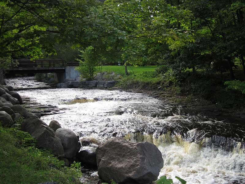 River in Whetstone State Park in Osceola NY