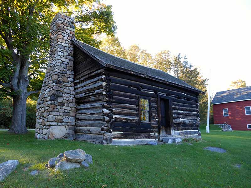 Adsit Log Cabin in Willsboro, NY