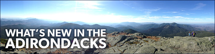 What's New In The Adirondacks Banner