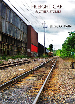 Train tracks on the book cover