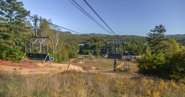 lift at the north creek ski bowl
