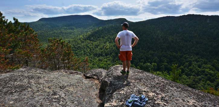 view of huckleberry mountain