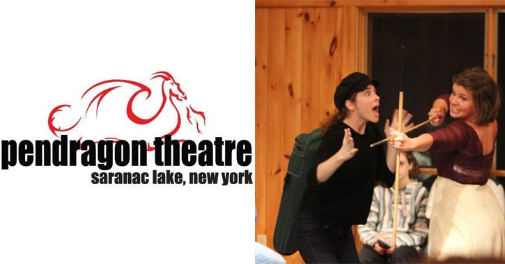 pendragon theatre logo and play performance