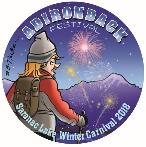 Saranac Lake Winter Carnival button