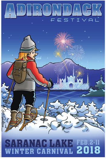 poster for Saranac Lake Winter Carnival