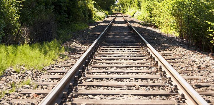 railroad stretching out