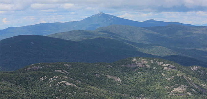 view from cascade mountain