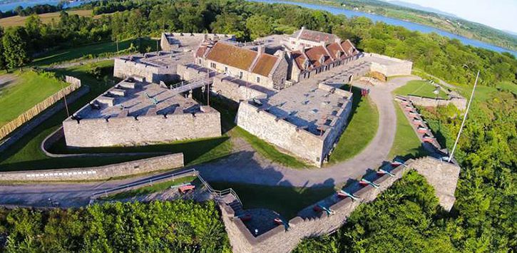 fort ticonderoga aerial