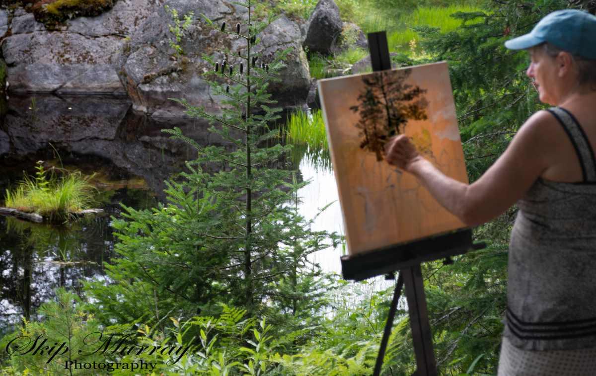 deborah geurtze painting en plein air