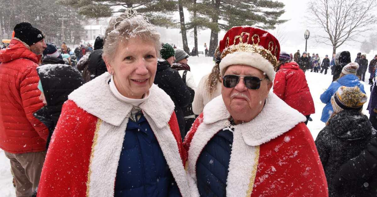 saranac lake winter carnival king and queen