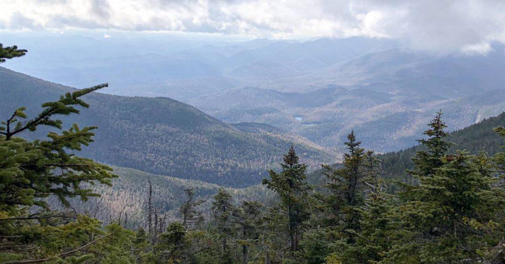 view of giant mountain