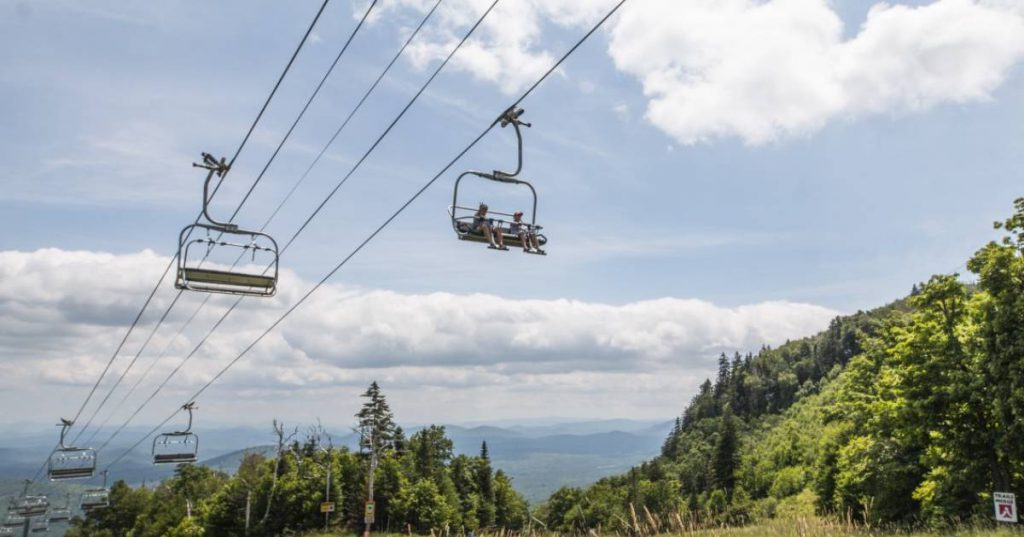 scenic ride on chairlift