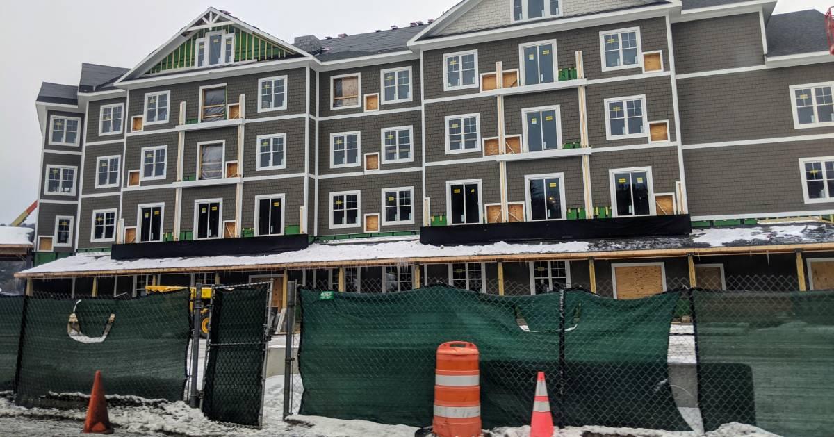 hotel under construction