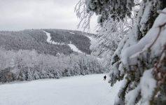 view of ski mountain