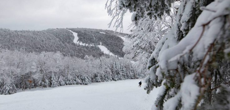 view of ski mountain