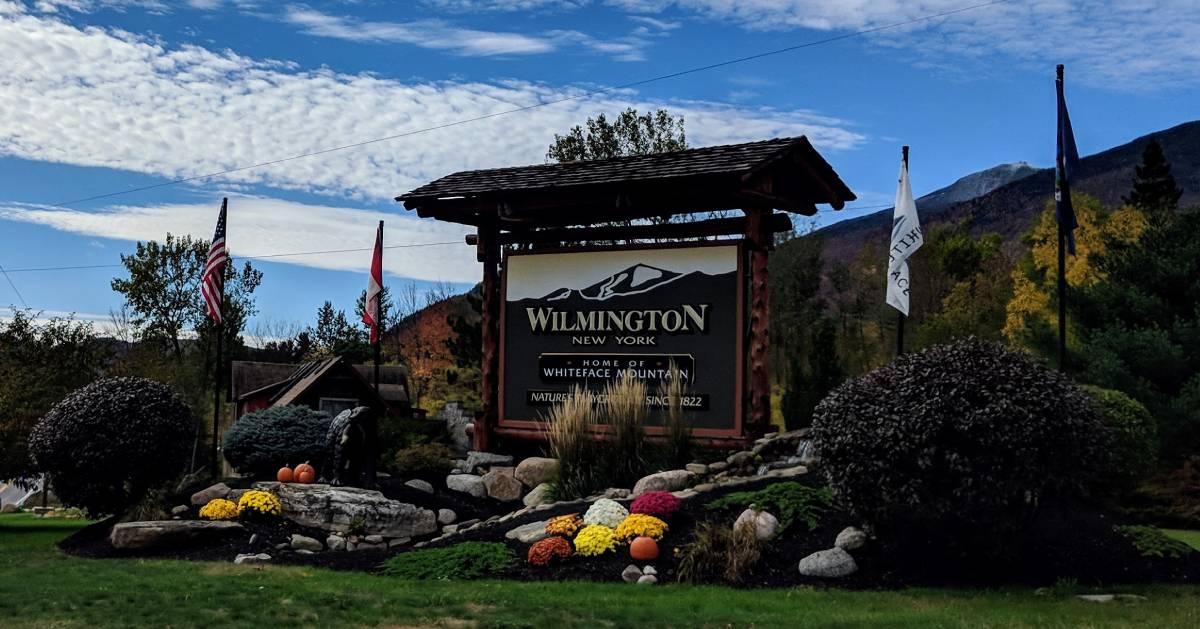 Wilmington, NY sign
