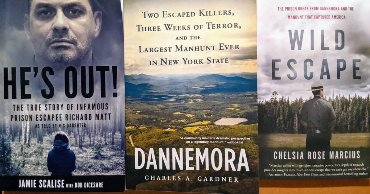 three Dannemora books