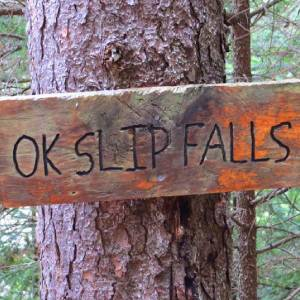 OK Slip Falls sign