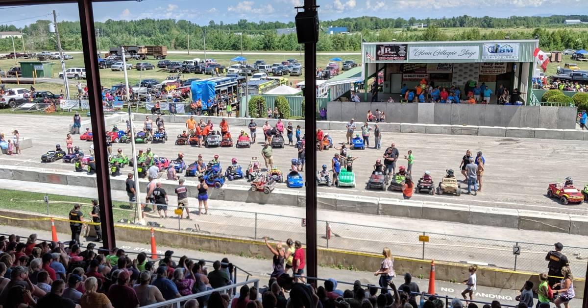car event at fair