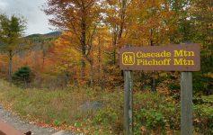 cascade mountain sign